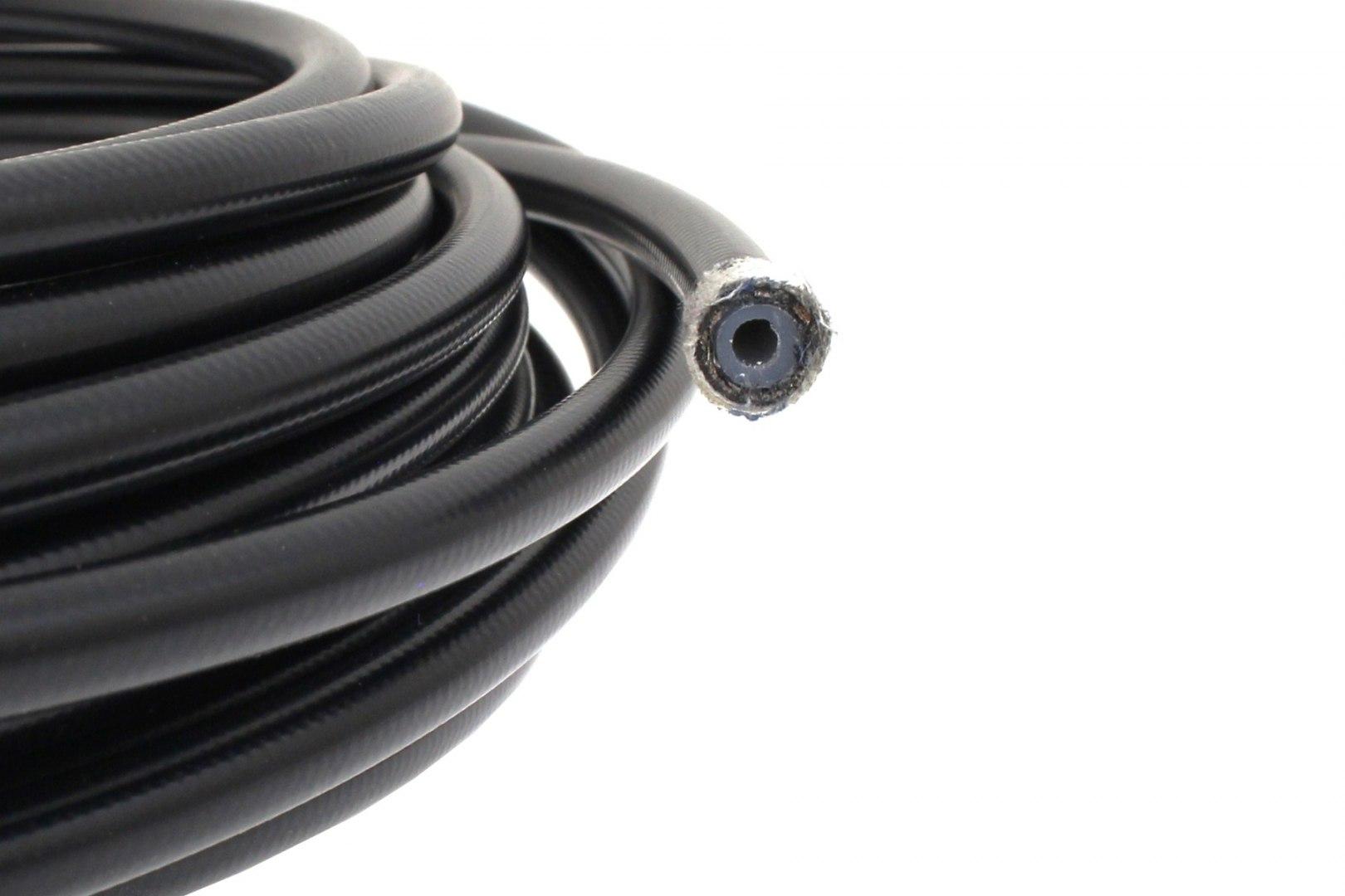 Przewód teflonowy PTFE AN4 5,5mm oplot stalowy + PVC - GRUBYGARAGE - Sklep Tuningowy